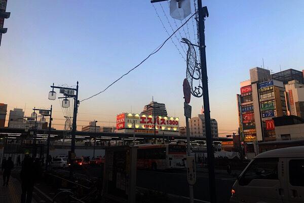 新小岩駅前